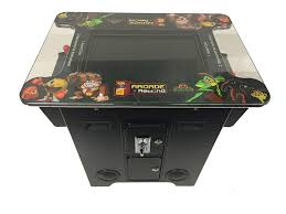 Tabletop Arcade Cabinet Arcade Rewind 60 In 1 Cocktail Arcade Machine For Sale