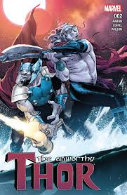 with unworthy thor jason aaron expands potentially the best thor