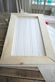 how to make shaker cabinet doors from old flat fronts best home