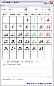 Kalender 2018 Hari Libur Indonesia Kalender Indonesia Beserta Hari Libur Dan Cuti Bersama Kata Baru