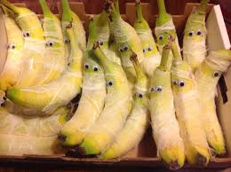 healthy snacks for halloween mummy bananas fun yummy healthy
