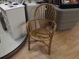 banquette rotin vintage fauteuil rotin vintage miel brin d u0027ouest