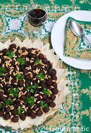 apprendre a cuisiner arabe meatballs with sour black cherries wishna kabab bil karaz
