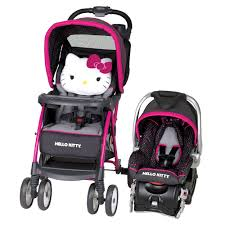 Hello Kitty Halloween Basket by Kitty Venture Stroller Travel System By Baby Trend