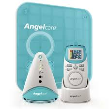 amazon com angelcare movement and sound monitor aqua white
