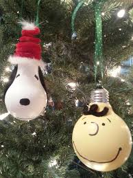 diy brown snoopy ornaments for