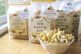 Baby Shower Favors by Spiced Kettle Corn Baby Shower Favors Gift Favor Ideas From