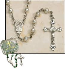 my rosary pearl rosary with plastic pearls holy rosary and spiritual