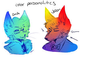 Personality Meme - color personality meme by captyns on deviantart