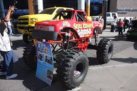 monster truck show chicago sema 2015 north hall and outdoor exhibits