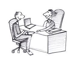 dessin de bureau santé travail equilibre