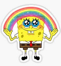 Spongebob Krabby Patty Meme - krabby patty stickers redbubble