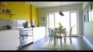 White And Yellow Kitchen Ideas - blue kitchen decor accessories mustard coloured kitchen