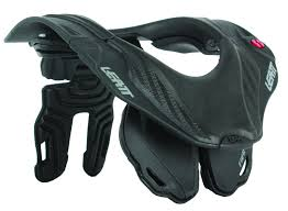 motocross protection gear leatt gpx club 5 5 junior youth motocross neck brace black grey