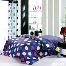 navy blue bubble duvet cover king queen full twin 1 pcs cotton