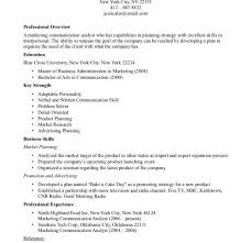 marketing communication analyst resume free professional resume