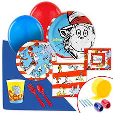 Thing One And Thing Two Party Decorations Thing 1 And Thing 2 Party Supplies Amazon Com