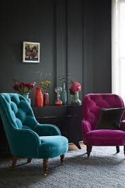 Purple And Grey Area Rugs Living Room Purple And Cobalt Blue Backbutton Sofa Armchair