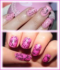 40 best hello kitty nail designs images on pinterest hello kitty