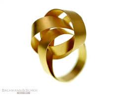 niessing ring niessing ring cirrus 750 gelbgold 18k gr 50