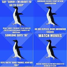 Socially Awkward Penguin Meme Generator - socially awkward penguin