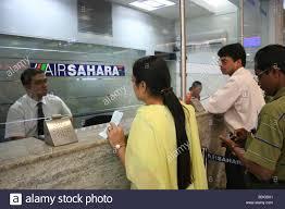 check in desk sign air sahara passengers check in desk logo sign stock photo 25561481