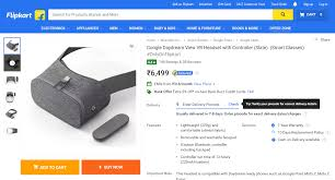 Home Zone Credit Card by Google Daydream Vr Headset Available On Flipkart Techbyu