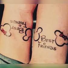 minnie u0026 mickey best friends tattoo bestfriend tattoos pinterest