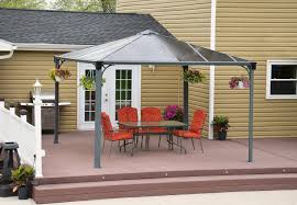 Garden Treasures 10 X 10 Aluminum Gazebo by Hardtop Gazebos Best 2017 Choices Sorted By Size