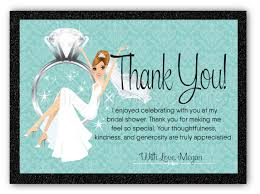 bridal shower thank you cards bridal shower thank you cards di 1533ty harrison greetings
