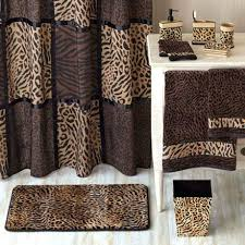 animal print bathroom ideas leopard bath towel jeux de decoration