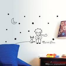 Home Decor Stars Stars Moon The Little Prince Boy Art Vinyl Wall Sticker Home Decor