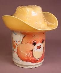 care bears friend bear mug cup cowboy hat