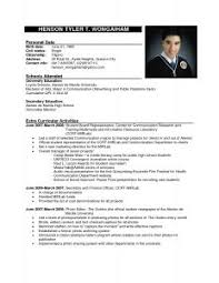 Sample Resume Templates by Examples Of Resumes Free Resume Templates More Inspiration And
