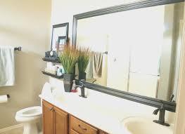 bathroom cool do it yourself framing a bathroom mirror home