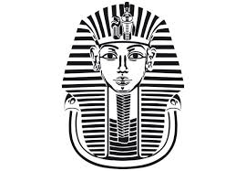 king tut black and white search creative form
