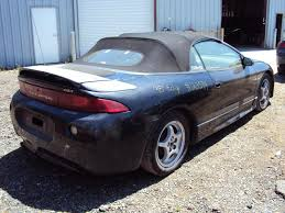 eclipse mitsubishi black 1998 mitsubishi eclipse spyder information and photos zombiedrive