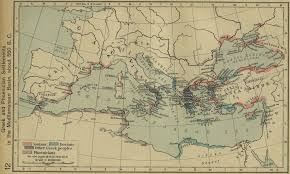 Ancient Europe Map by Of The Mediterranean Sea 550 Bc