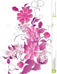 flower ornament in pink royalty free stock photography image
