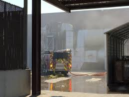 North Bay Fire Control District by Antioch Glass Manufacturing Fire Knocked Down