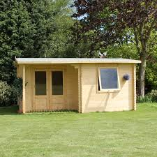 Home Office Shed 5m X 3m Steel Shed Garden Sheds 3m X 4m Log Cabins At