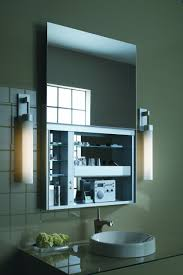 Bathroom Mirrors And Lighting Ideas Home Decor Lighted Medicine Cabinet With Mirror Small Japanese