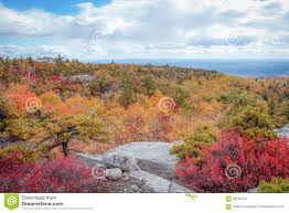New York State Fall Foliage Map by Sam U0027s Point Preserve In Shawangunk Mountains New York State In