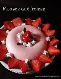 aux fraises cuisine mousse au fraises pour la journée internationale des droits de la