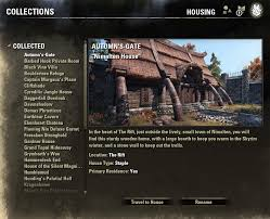 Skyrim Home Decorating Guide Eso Fashion Housing Guide Elder Scrolls Online