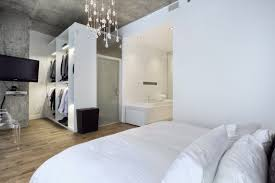 Master Bedroom Makeover Ideas Bedroom White Minimalist Bedroom Design With Small Walk In