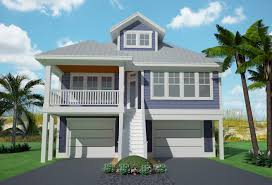 plan 15061nc narrow lot low country home plan country beach