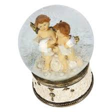 mr christmas mr christmas snow globe with angel