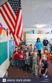 I Pledge Of Allegiance To The Flag Children Say Pledge Of Allegiance To The American Flag In Pre