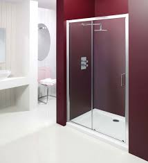 Frameless Shower Door Sliding by Shower Doors Bathroom Frameless Enclosures